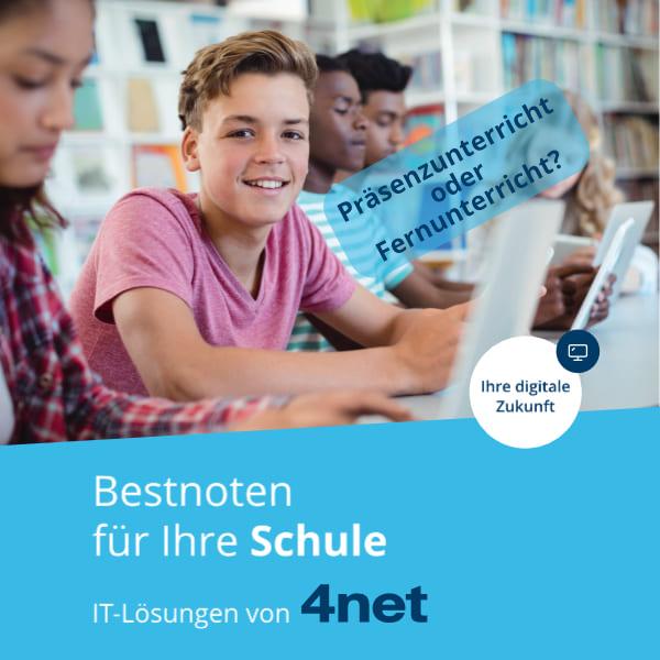 Edulog mit 4net und Microsoft Ecucation Fernunterricht